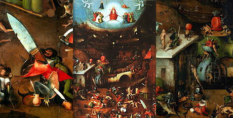 Bosch: The Last Judgement - central panel and details