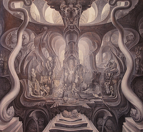 Ernst Fuchs: Job and the Judgement of Paris