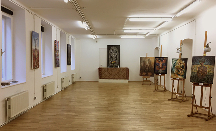 Vienna Academy of Visionary Art Gallery Space