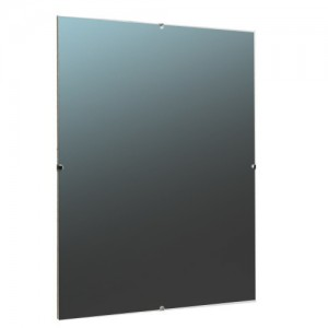 Clear Plastic Picture Frame with black paper inserted
