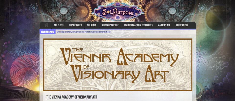 SolPurpose article on The Vienna Academy of Visionary Art