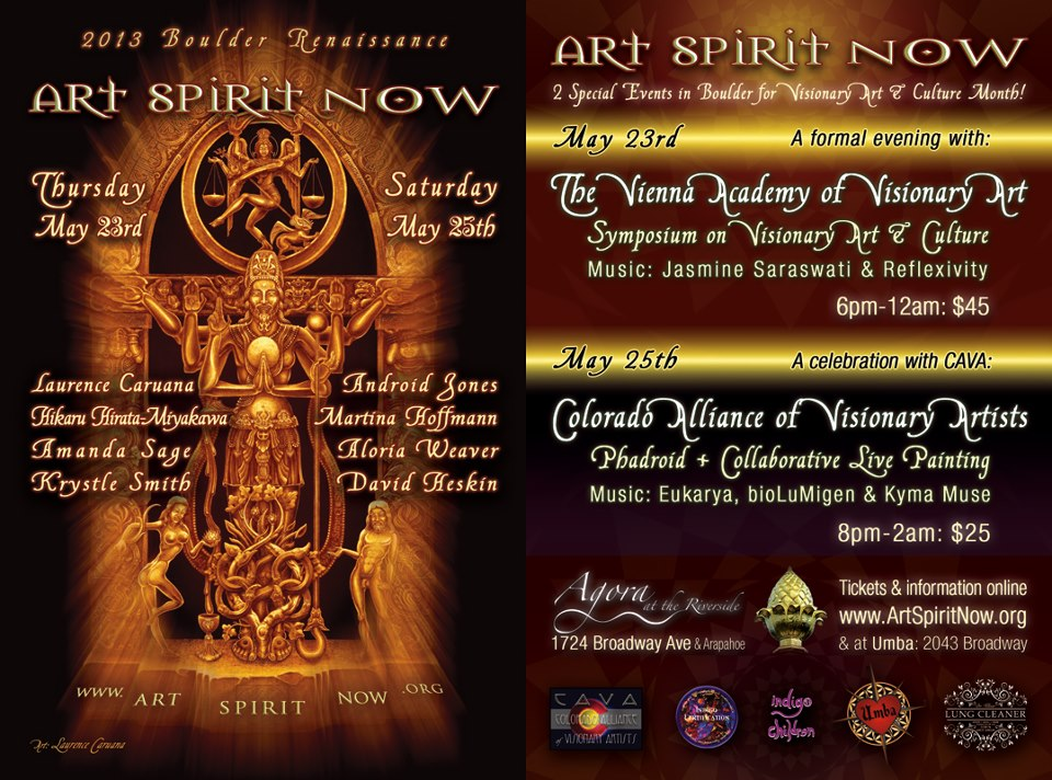 Two events in Boulder, May 2013, to help launch the Vienna Academy